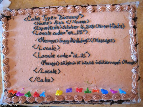 L'univers des Geeks - Page 2 Birthday_code_cake