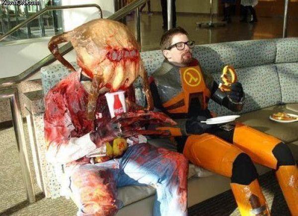 L'univers des Geeks Half-life_costumes