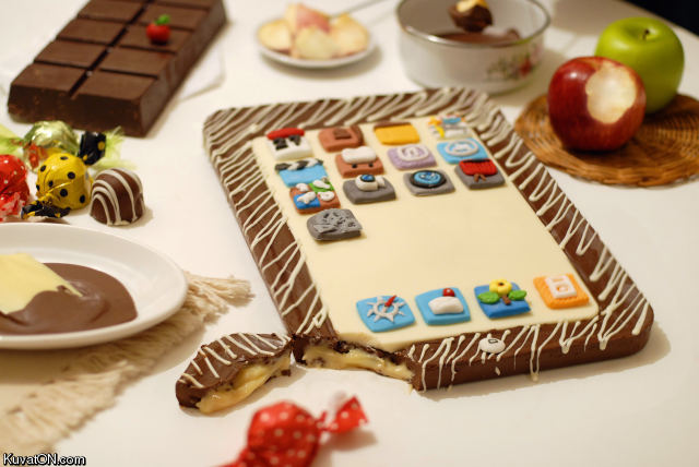 L'univers des Geeks - Page 3 Ipad_cake