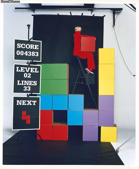 L'univers des Geeks Live_action_tetris