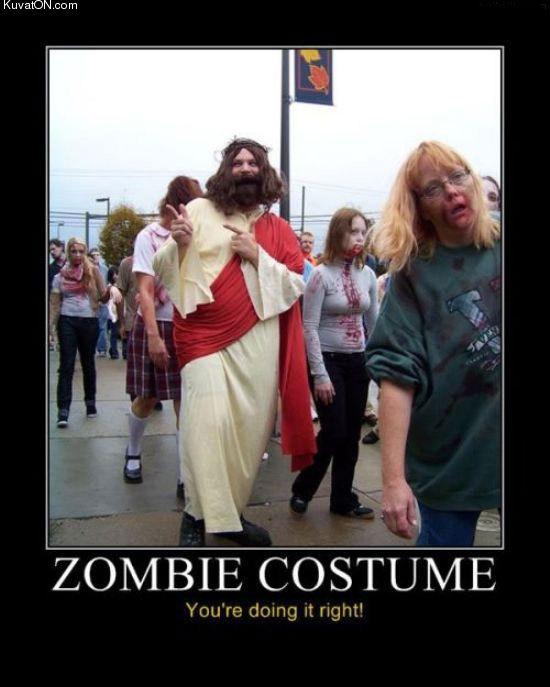 funny pictures Zombie_costume_jesus